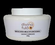 Máscara Multifuncional Natural - Cacau e Abacate - Divina Fulô