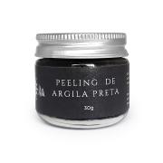 Peeling Natural de Argila Preta - Hélli Cosmetics