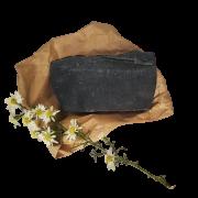 Sabonete Facial Natural - Carvão Ativado e Hortelã Pimenta - Divina Fulô