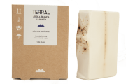 Sabonete Natural - Argila Branca e Lavanda - TERRAL