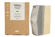 Sabonete Natural - Argila Preta e Gengibre - TERRAL
