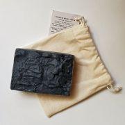 Sabonete Natural - Carvão de Bambu e Menta - Floë Natural
