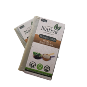 Shampoo Sólido Natural - Menta e Argila Branca - Nativa Eco-Cosméticos