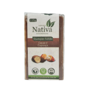 Shampoo Sólido Natural - Cacau e Cupuaçu - Nativa Eco-Cosmética