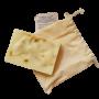Sabonete Natural - Calêndula e Lavandin - Floë Natural