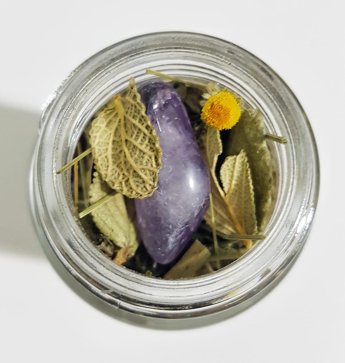 Banho de Ervas e Flores com Ametista - Olea  - SALVIA