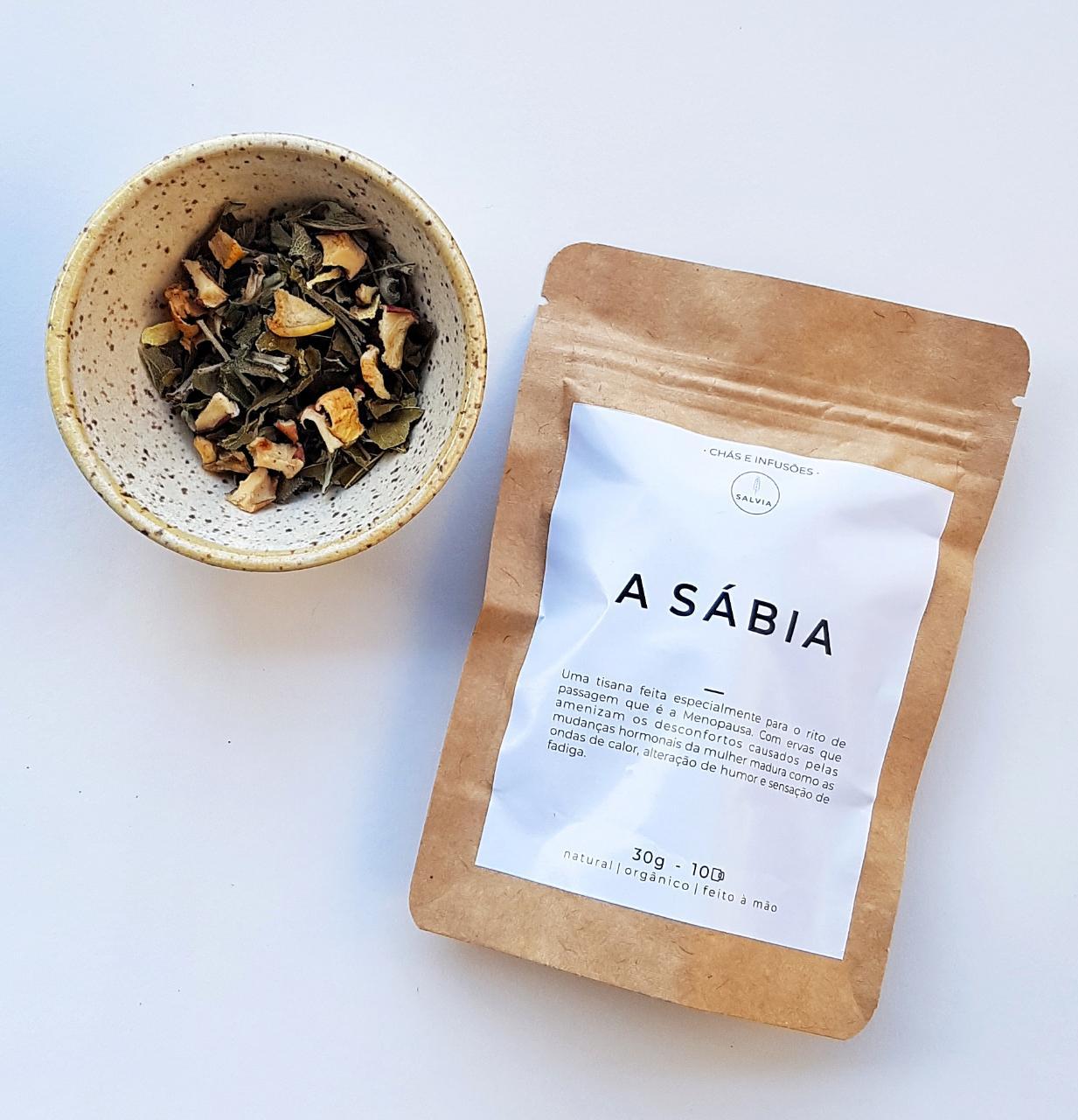 Blend de Chá Natural - A Sábia - SALVIA