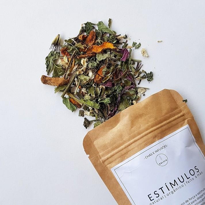 Blend de Chá Natural - Estímulos - SALVIA  - SALVIA