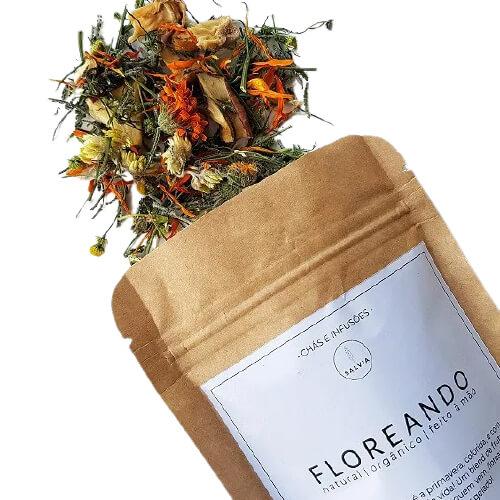 Blend de Chá Natural - Floreando - SALVIA