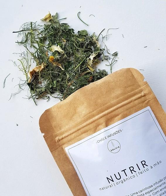 Blend de Chá Natural - Nutrir - SALVIA  - SALVIA