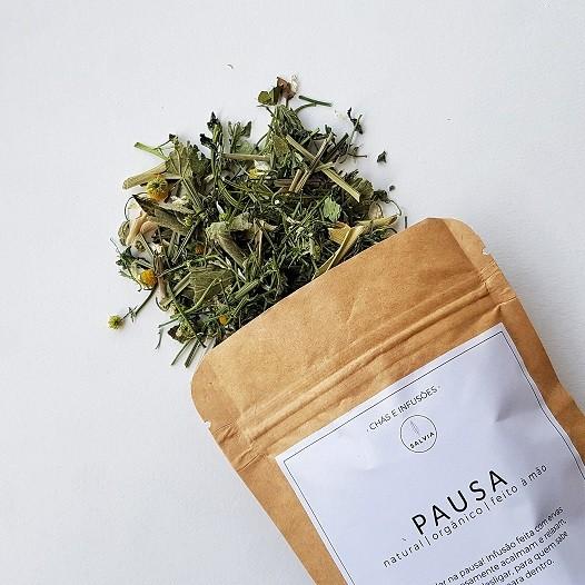 Blend de Chá Natural - Pausa - SALVIA  - SALVIA