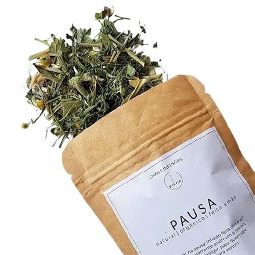 Blend de Chá Natural - Pausa - SALVIA