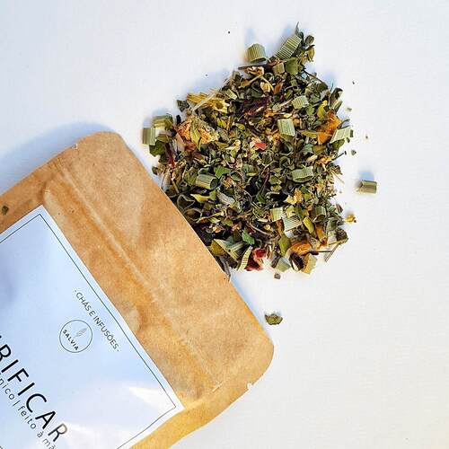 Blend de Chá Natural - Purificar - SALVIA