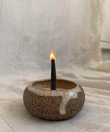 Cerâmica para Incenso - grün cerâmicas   - SALVIA