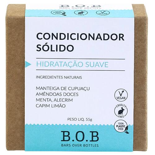 Condicionador em Barra Natural - Hidratação Suave - B.O.B