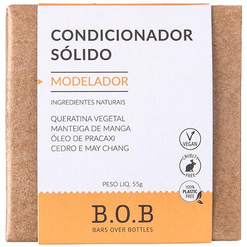Condicionador em Barra Natural - Modelador - B.O.B