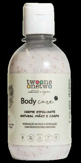 Creme Esfoliante Mãos e Corpo Natural - Twoone Onetwo