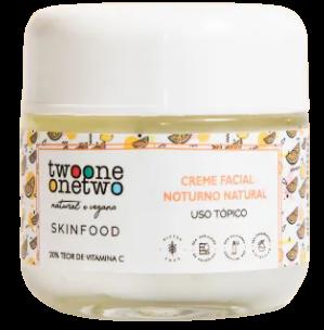 Creme Facial Natural - Noturno Vitamina C - Twoone Onetwo