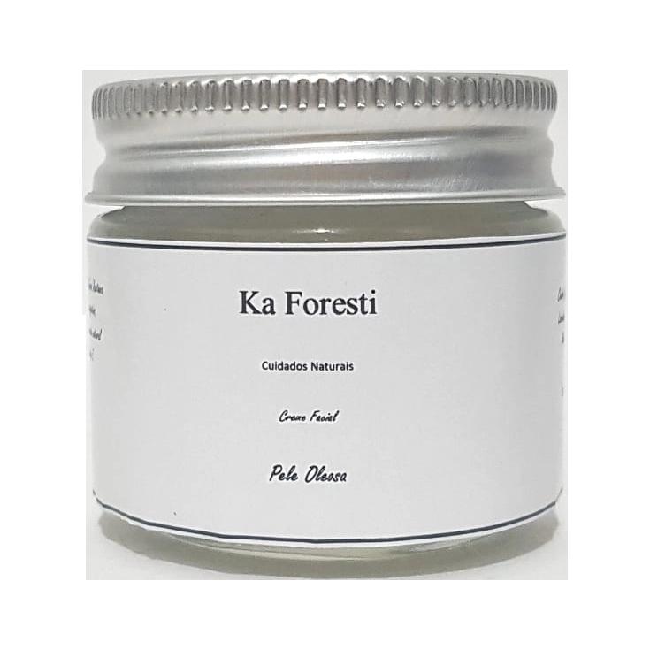 Creme Facial Natural - Peles Oleosas e Acneicas - Ka Foresti  - SALVIA