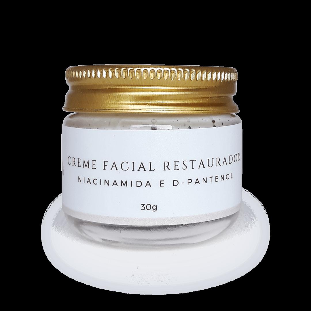 Creme Facial Natural - Restaurador - Hélli Cosmetics  - SALVIA