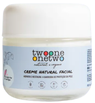 Creme Facial Natural - Physallis - Twoone Onetwo