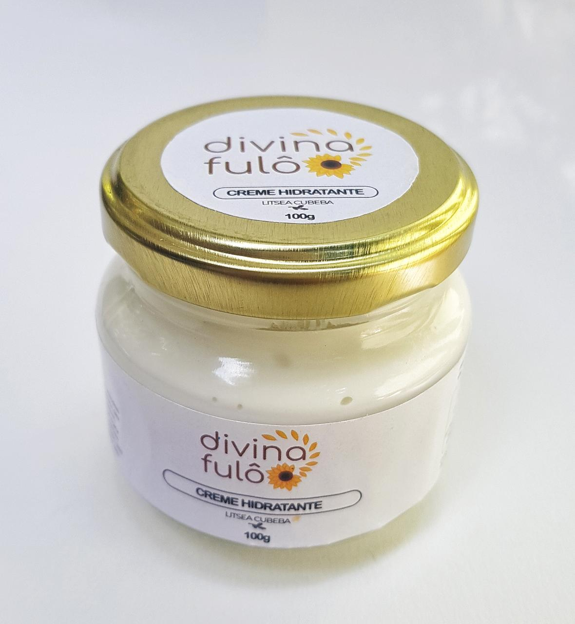 Creme Hidratante Natural - Litsea Cubeba - Divina Fulô  - SALVIA