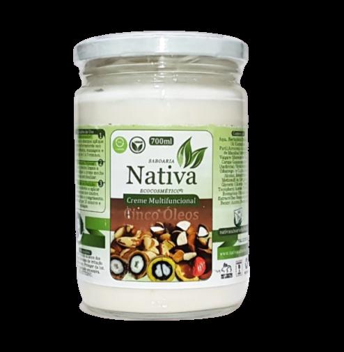 Creme Multifuncional Natural - Cinco Óleos - Nativa Eco-Cosmética  - SALVIA