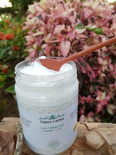 Creme Multifuncional Natural - Graviola e Coco - Nativa Eco-Cosmética  - SALVIA