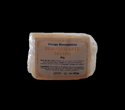 Demaquilante Sólido Natural - Pitanga Biocosméticos  - SALVIA