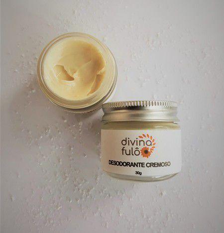 Desodorante Natural em Creme - Divina Fulô  - SALVIA