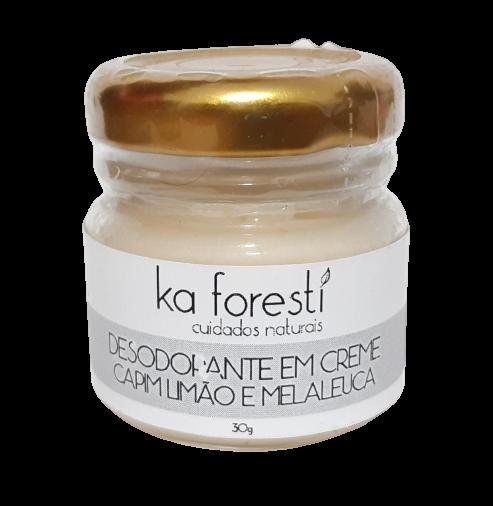 Desodorante Natural em Creme - Ka Foresti  - SALVIA