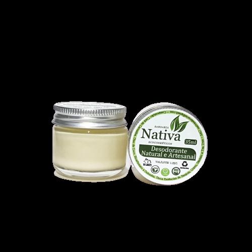 Desodorante Natural em Creme - Nativa Eco-Cosmética  - SALVIA