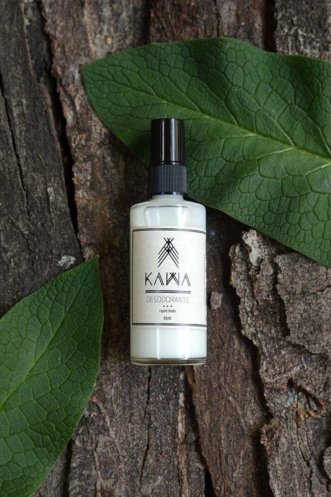 Desodorante Natural em Spray - Capim Limão - KAWA   - SALVIA