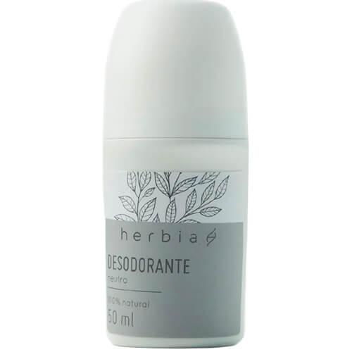 Desodorante Natural Roll-on - Neutro - Herbia