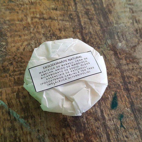 Desodorante Natural Sólido - Floë Natural  - SALVIA