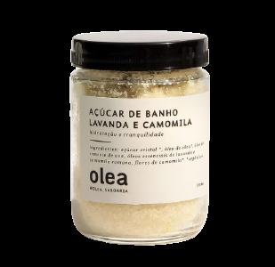 Esfoliante Açúcar de Banho Lavanda e Camomila - Olea  - SALVIA
