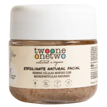 Esfoliante Facial Natural - Twoone Onetwo