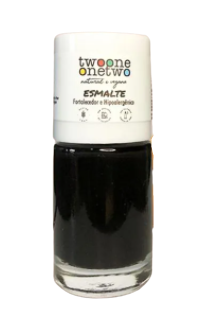 Esmalte Fortalecedor Natural - Black Onyx - Twoone Onetwo