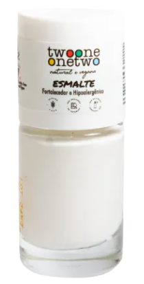 Esmalte Fortalecedor Natural - Bright white - Twoone Onetwo