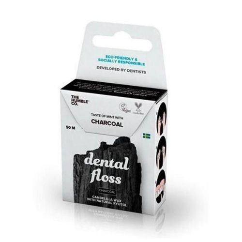Fio Dental Natural - Carvão - The Humble