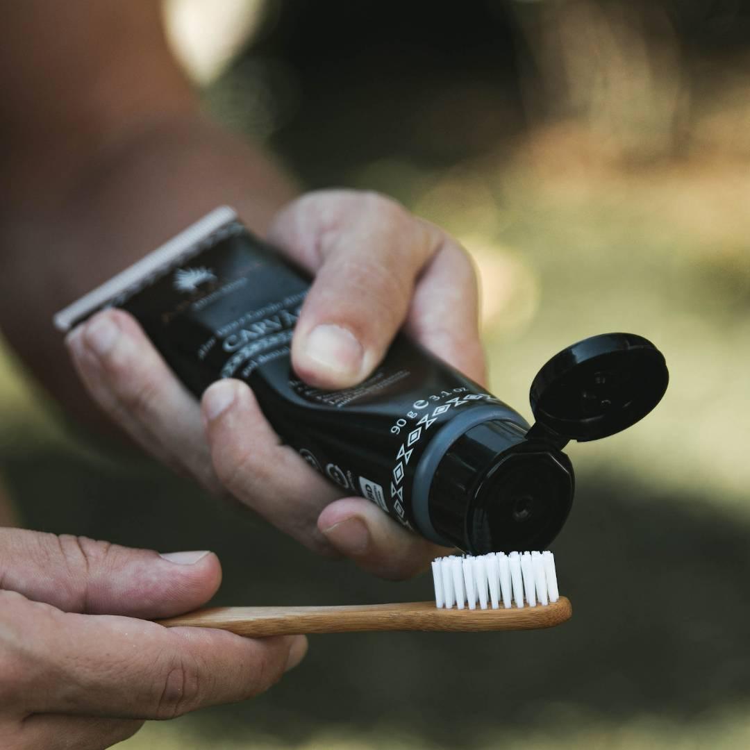 Gel Dental Natural - Carvão - AhoAloe   - SALVIA