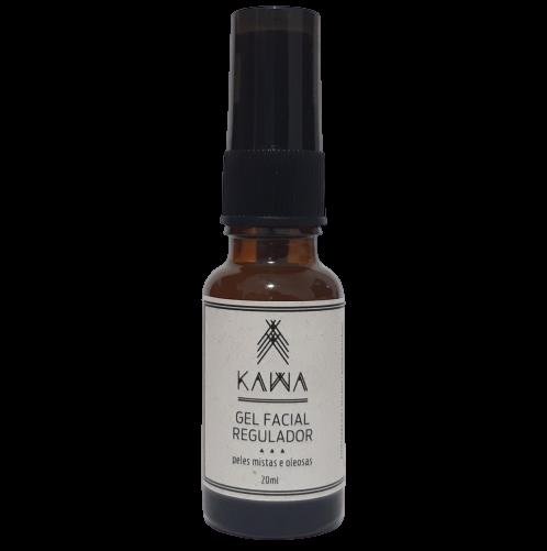 Gel Facial Natural - Regulador - KAWA   - SALVIA