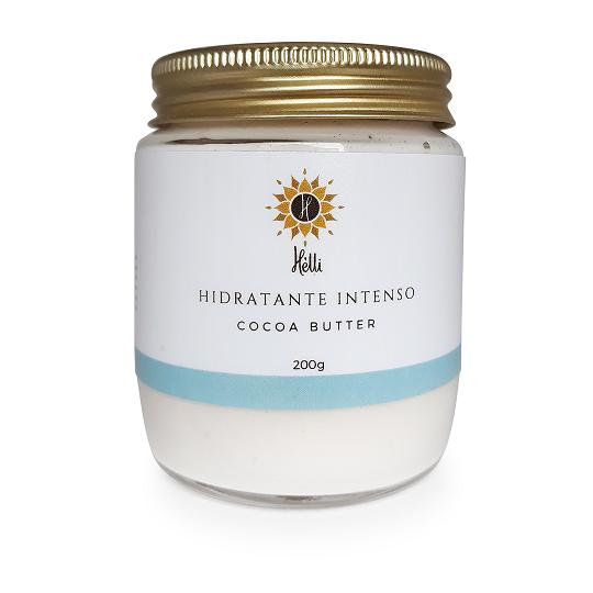 Hidratante Corporal Natural Intenso - Cocoa Butter - Hélli Cosmetics   - SALVIA