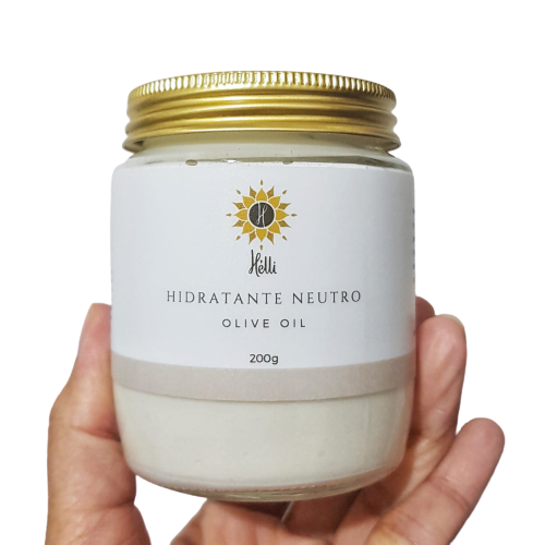 Hidratante Corporal Natural Neutro - Olive Oil - Hélli Cosmetics   - SALVIA