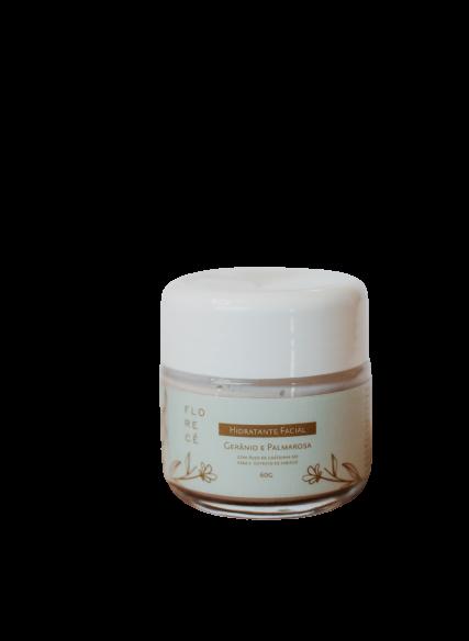 Hidratante Facial Natural - Gerânio e Palmarosa - FLORECÊ  - SALVIA