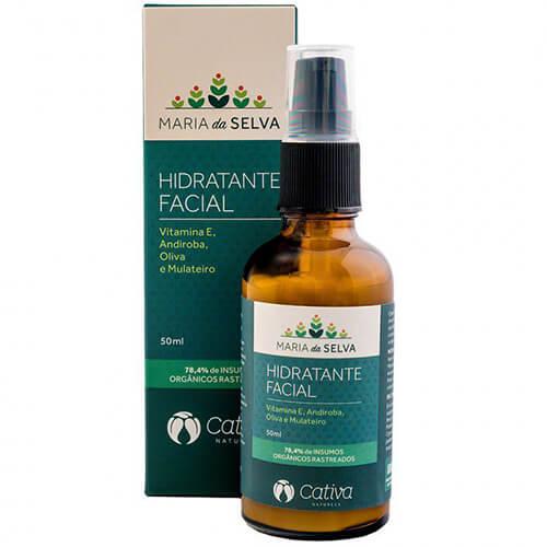 Hidratante Facial Natural -  Maria Selva - Cativa Natureza  - SALVIA