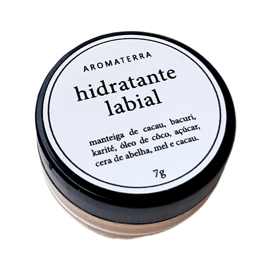 Hidratante Labial Natural - Aromaterra Botânica  - SALVIA