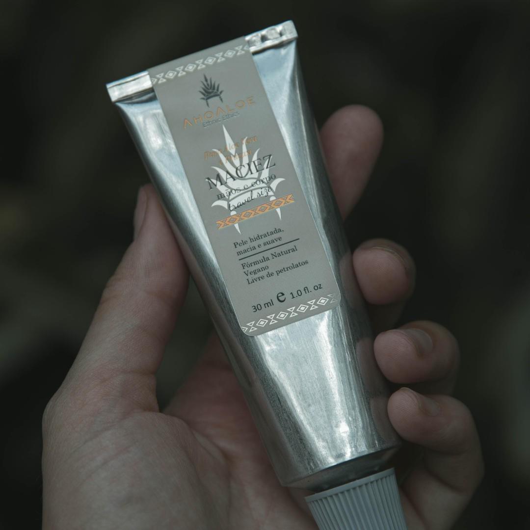 Hidratante Mãos e Corpo Natural - Maciez - AhoAloe   - SALVIA