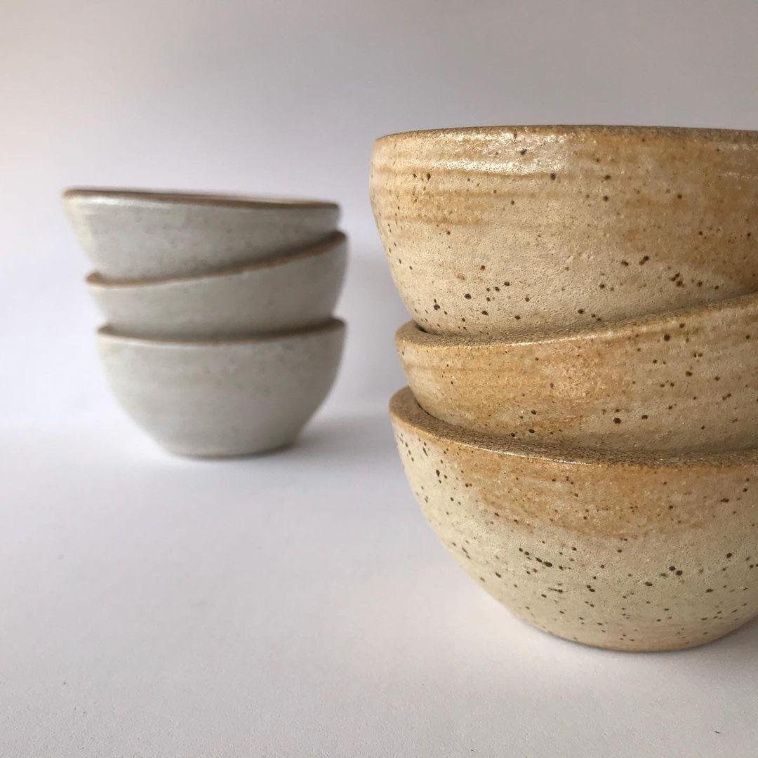 Incensário de Cerâmica Donburi - SANTO   - SALVIA