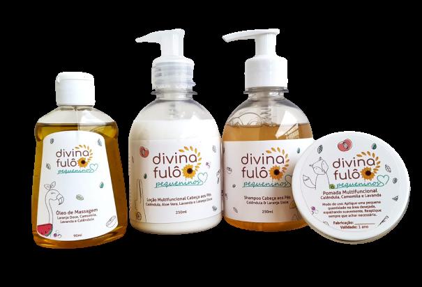 Kit Completo Pequeninos - Divina Fulô  - SALVIA